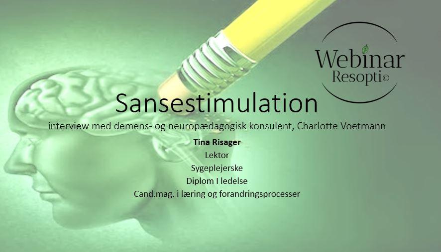 Sansestimulation