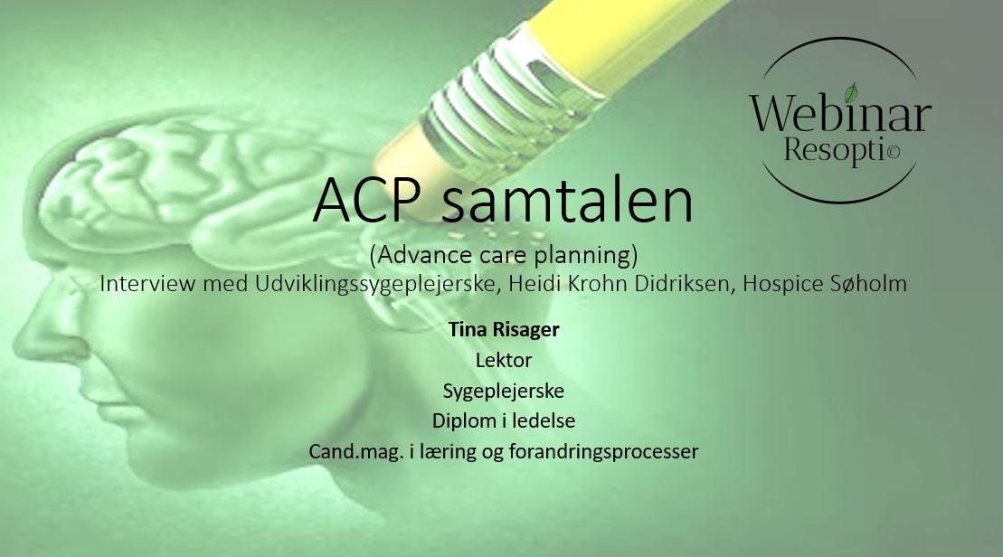 ACP samtalen